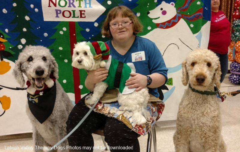 2016.easterseals.HolidayParty.Koalby.Mr.Peabody.Dante