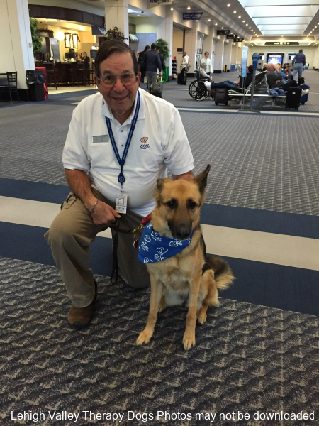 LVIA.C.O.P.E.(Canines Offering Passengers Encouragement program BELLA